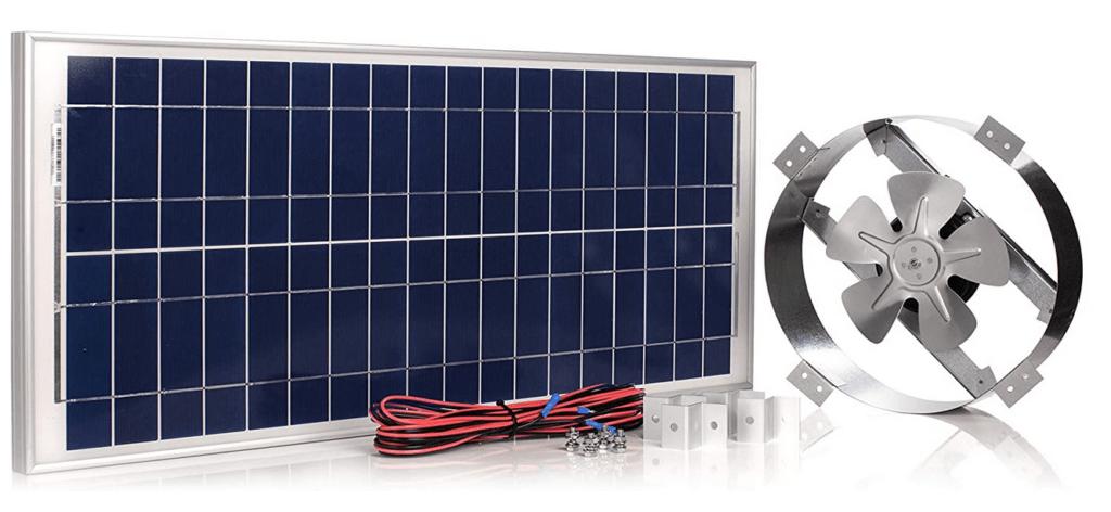 Amtrack Solar Attic Fan