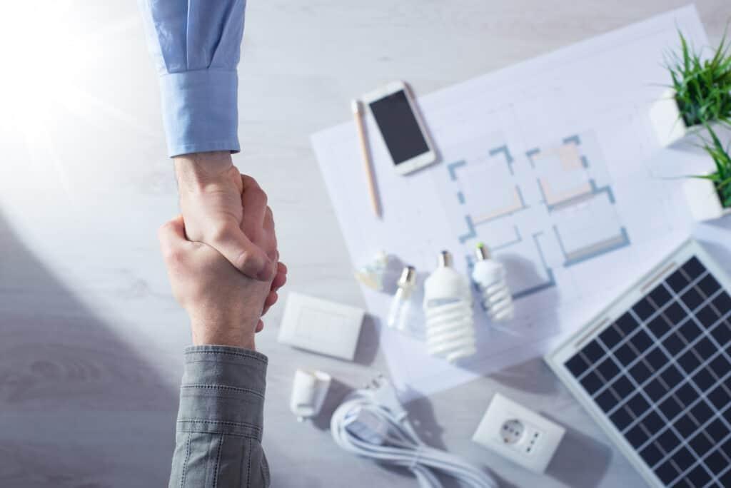Solar lead generation deal